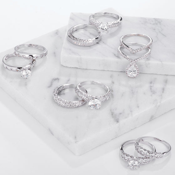 Beautiful Bridal Wedding Ring Sets