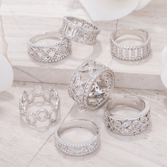 Classic Band Rings