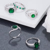 Emerald Green Rings