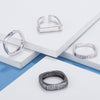 Geometric Trendy Rings