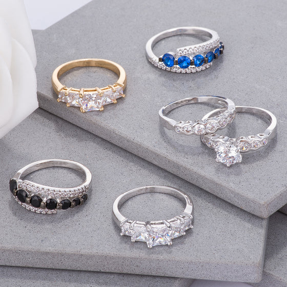 Graduated CZ Rings