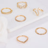 Trendy Gold Rings