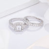 Marilyn Vintage Rhodium Wedding Set