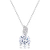8mm Cubic Zirconia Fashion Pendant