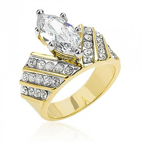 Venetian Crown Ring