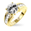 Rachel 2.8ct CZ 14k Gold Ring
