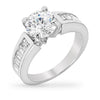 Rachel 2.8ct CZ Sterling Silver Ring