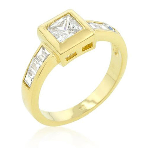Bethany 1.3ct CZ 14k Gold Classic Ring