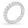 Caroline 4.1ct CZ Sterling Silver Classic Eternity Band