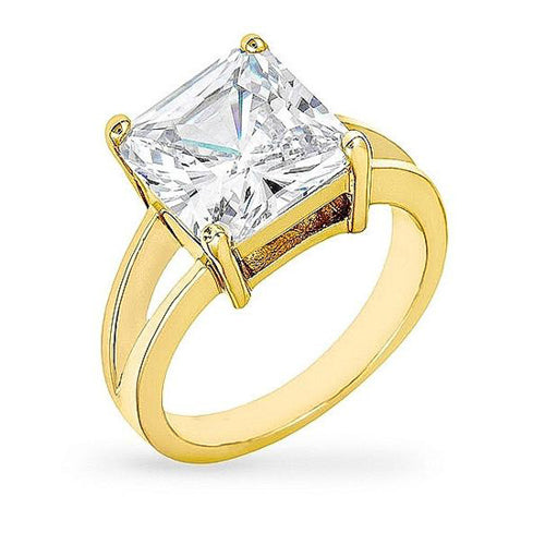 Daria 5ct CZ 14k Gold Ring
