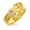 Golden Buckle Ring