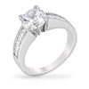 Raye 2.5ct CZ White Gold Rhodium Ring