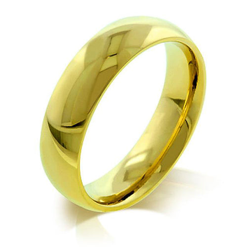 Jeraldine 14k Gold Classic 5mm Eternity Band