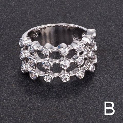 Tiered Contemporary Ring