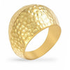 Brittney 14K Gold Textured Ring