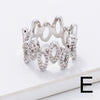 Chic and Trendy CZ Rings