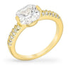Florence 1.8ct CZ 14k Gold Simple Ring
