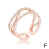 Trendy Rose Gold Rings