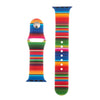 Rainbow Silicone Sports Watch Band 42mm