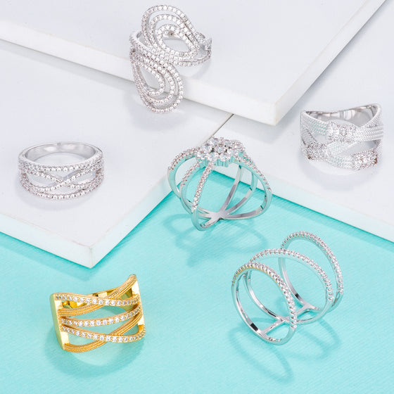 Trendy Wrap Rings