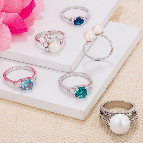 Ocean Inspired Ring Collection