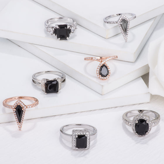 Onyx Inspired Ring Collection
