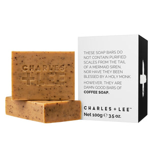 Coffee Soap Bar | Duo