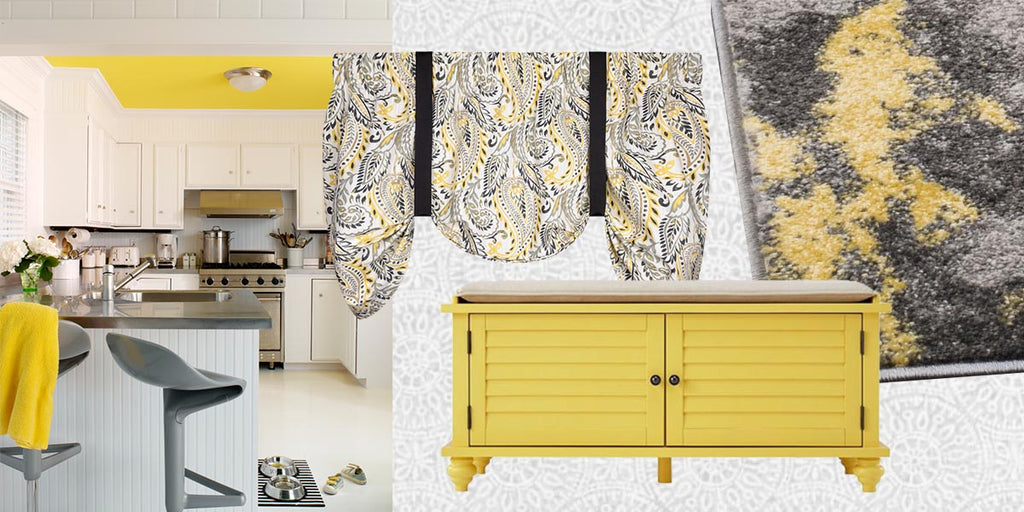 Color Story: Cool Gray and Sunny Yellow