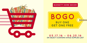 Buy One Get One Free! May/June 2016