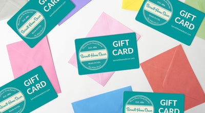 Get a 10% bonus to spend on yourself when you buy gift cards at barnetthomedecor.com