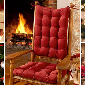 Christmas Giveaway 2019 - Win a set of rocking chair cushions, dining chair cushions, or other Made in USA home decor prizes