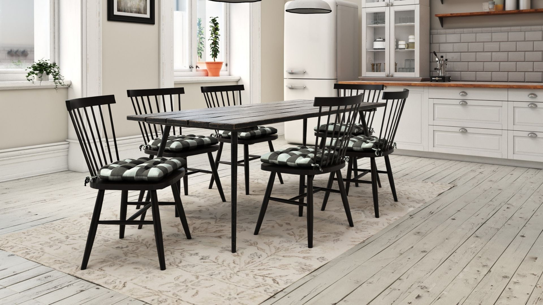 Image of: Dining Chair Pads Barnett Home Decor Made In Usa