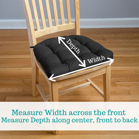 dining chair pads size guide how to measure