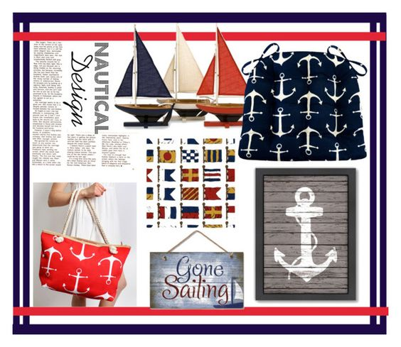 Gone Sailing Ft. Sailors Anchor Dining Chair Pads