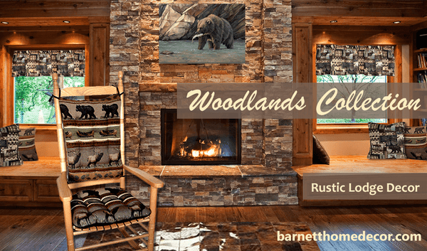 Woodlands Rustic Lodge Collection