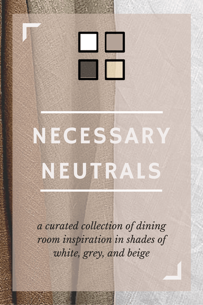 necessary neutrals pin