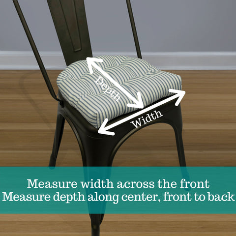 how to measure industrial tolix chair cushions