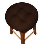 Rave Chocolate Bar Stool Cover with Cushion and Adjustable Drawstring Yoke - Indoor/Outdoor