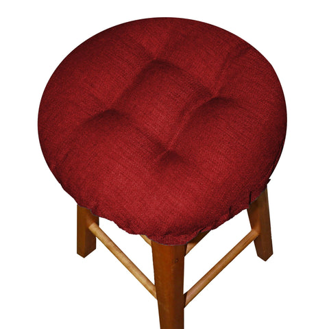 Rave Red Indoor/Outdoor Barstool Pad - Barnett Home Decor - Ruby Red