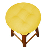 Rave Yellow Gold Bar Stool Cover with Adjustable Drawstring Yoke