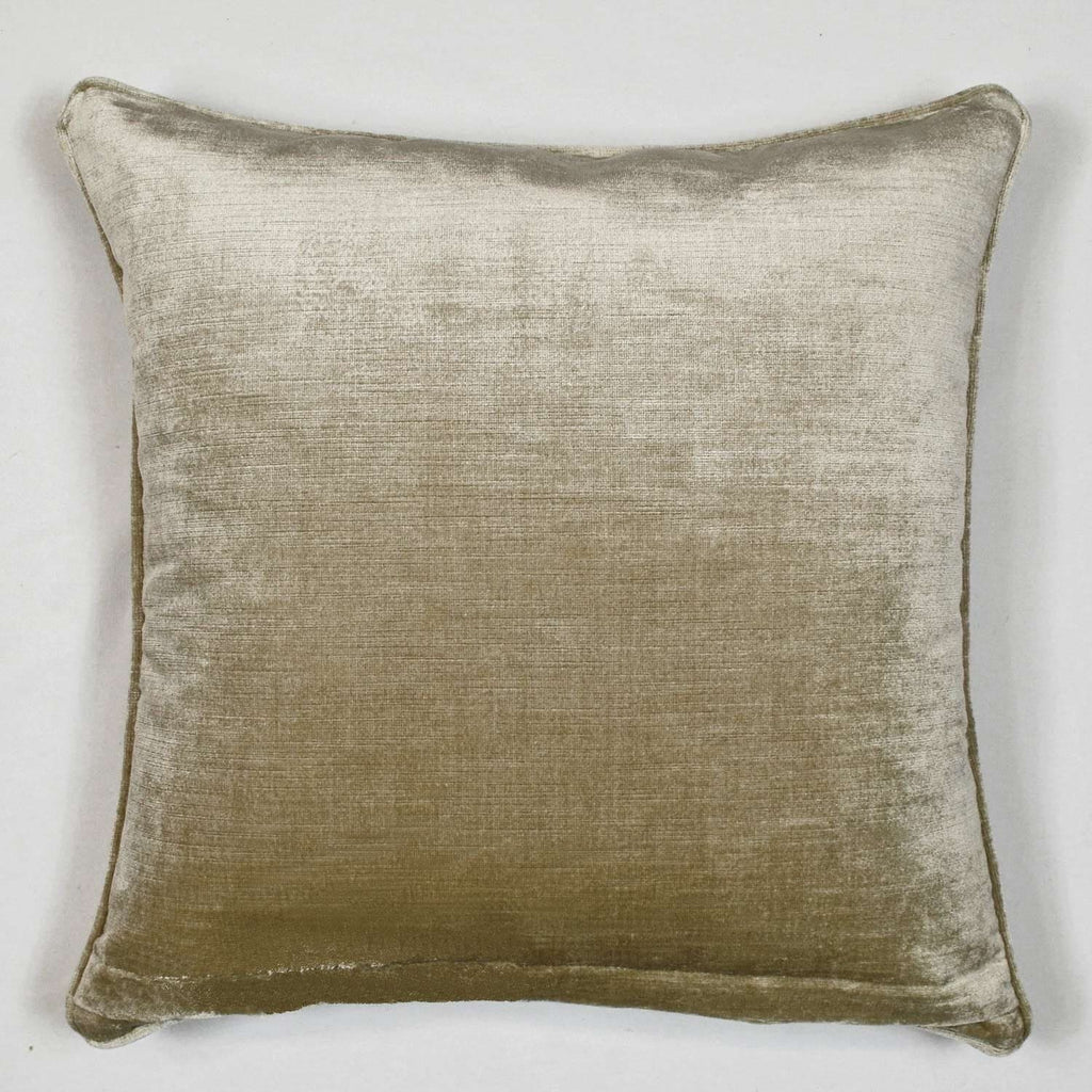 Cafe Fringe Feather Throw Pillow With Removable Cover 20 Square