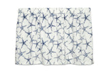 Tier Curtain (single) - Sea Shore Starfish Navy Blue - Barnett Home Decor