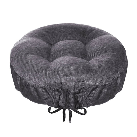 Rave Grey Indoor Outdoor barstool cover | Barnett Home Decor