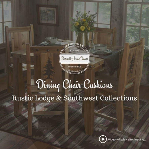 Woodlands Fairbanks Dining Chair Pads - Latex Foam Fill