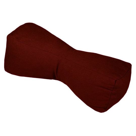 Cotton Duck Travel Buddy Neck Support Pillow Claret Red