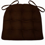 Woodlands Fish Camp Chair Cushion Reverse to Microsuede Brown