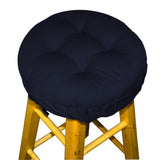 Cotton Duck Navy Blue Barstool Pad | Barnett Home Decor | Navy Blue