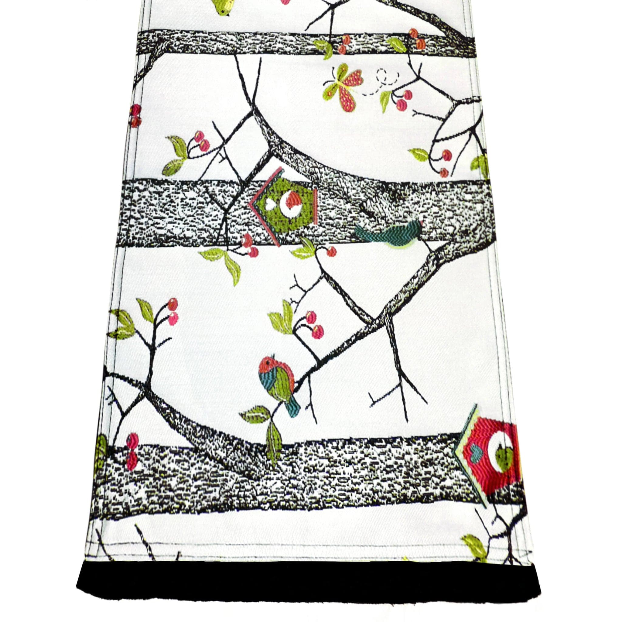 Lancy Bird House Table Runners - Rectangle