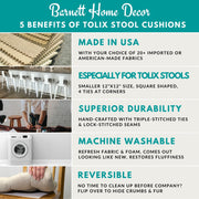 5 Benefits of Tolix Stool Cushions - Barnett Home Decor