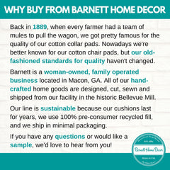 Why Buy From Barnett Home Decor